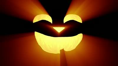 stock-footage-jack-o-lantern-halloween-pumpkin-funny-shape